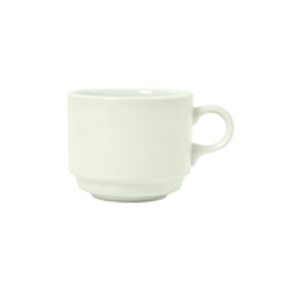 Syracuse China 950093114 8-oz Stacking Cup w/ Undecorated P