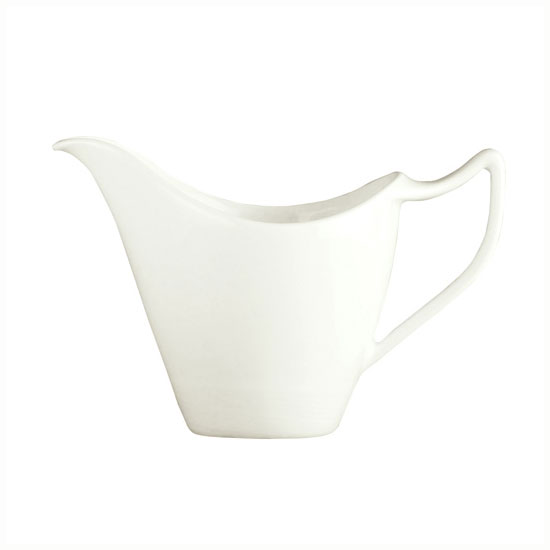 Syracuse China 987659339 3.75-oz Handled Creamer w/ Silk Patte