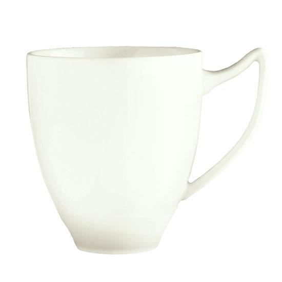 Syracuse China 987659341 12-oz Handled Mug w/ Silk Pattern & Royal Rideau, Alumina