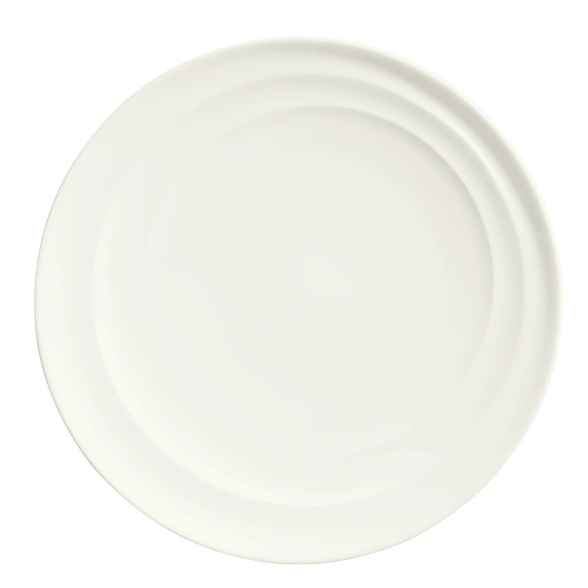 Syracuse China 995679502 10.25-in Plate w/ Resonate Pattern & R