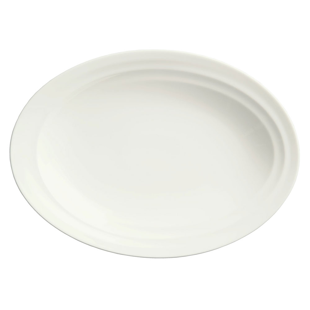 Syracuse China 995679507 Oval Platter w/ Resonate Pattern &amp