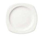 Syracuse China 905437895 6.25-in Square Plate w/ Elan Pattern & Medium Rim, Flat, Royal Rideau Body