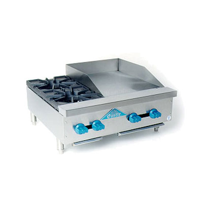 Comstock-Castle FHP30-18 Hotplate Griddle w/ 2-Burners