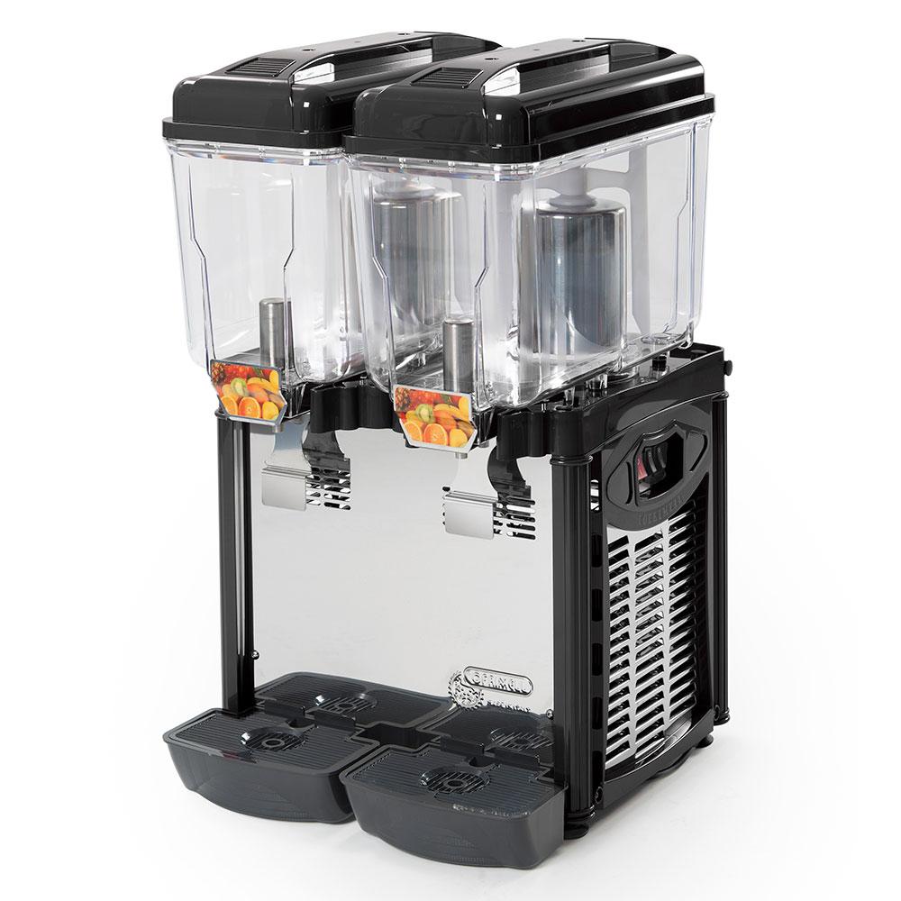 Eurodib CD2J Juice Dipsenser w/ (2) 3.2-Gallon Polycarbonate Tank
