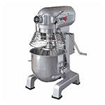 Eurodib M20EUL 20 Qt Planetary Mixer- 3-Speeds, Stainless Bowl, 110v