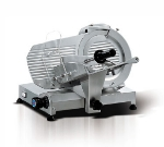 Eurodib MIRRA 250 10-in Slicer w/ Removable Built-In Sharpener, Belt Driven, Manual