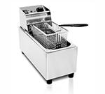 Eurodib SFE01860-120 Countertop Fryer w/ 8-Liter Capacity, Stainless, 120 V