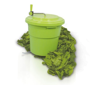 Eurodib SP027 5-Gallon Salad Spinner w/ Collapsable Handle