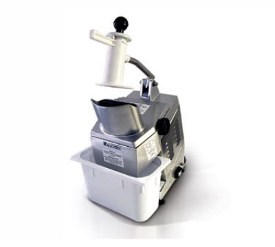 Eurodib TM 2201 Vegetable Cutter w/ 1-Disc, Holder, Poly Container, 220/1 V