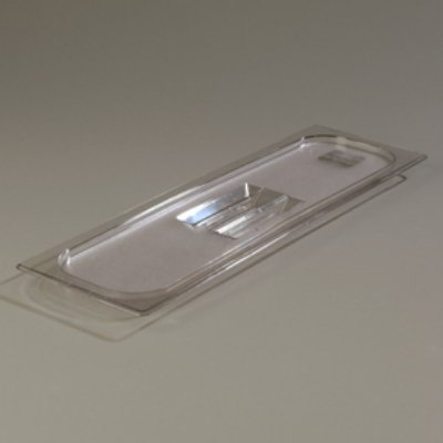 Carlisle 1025007 Half Size-Long Food Pan Lid - Clear