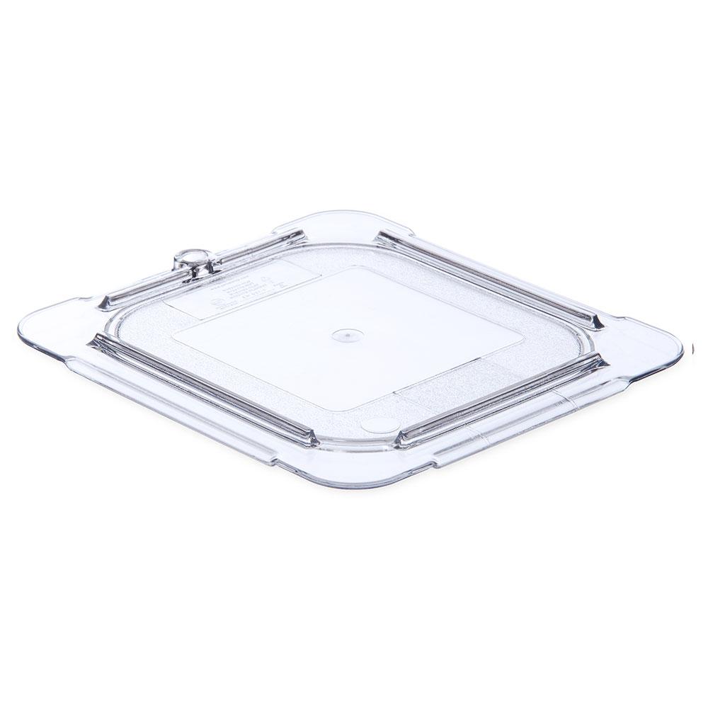 Carlisle 10337U07 Universal Notched Flat Lid for 1/9 Size Food Pans Restaurant Supply