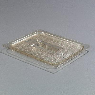 Carlisle 1043013 High Heat Half Size Pan Handled Lid - Amber