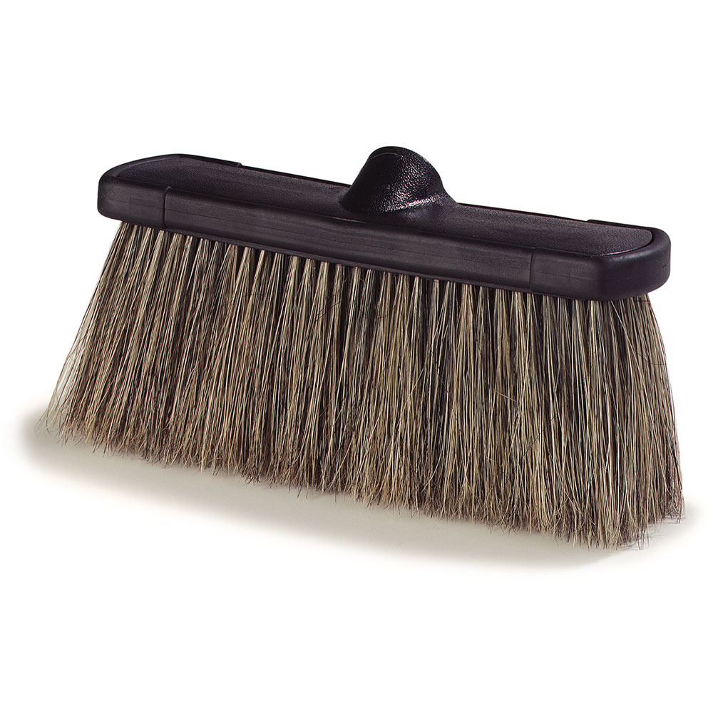 "Carlisle 3637200 10"" Flow-Through Brush - Boar Bristles"