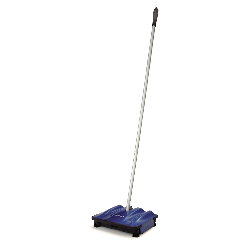 "Carlisle 3639914 9"" Multi-Surface Duo-Sweeper - Low Profile, 42"" Handle"