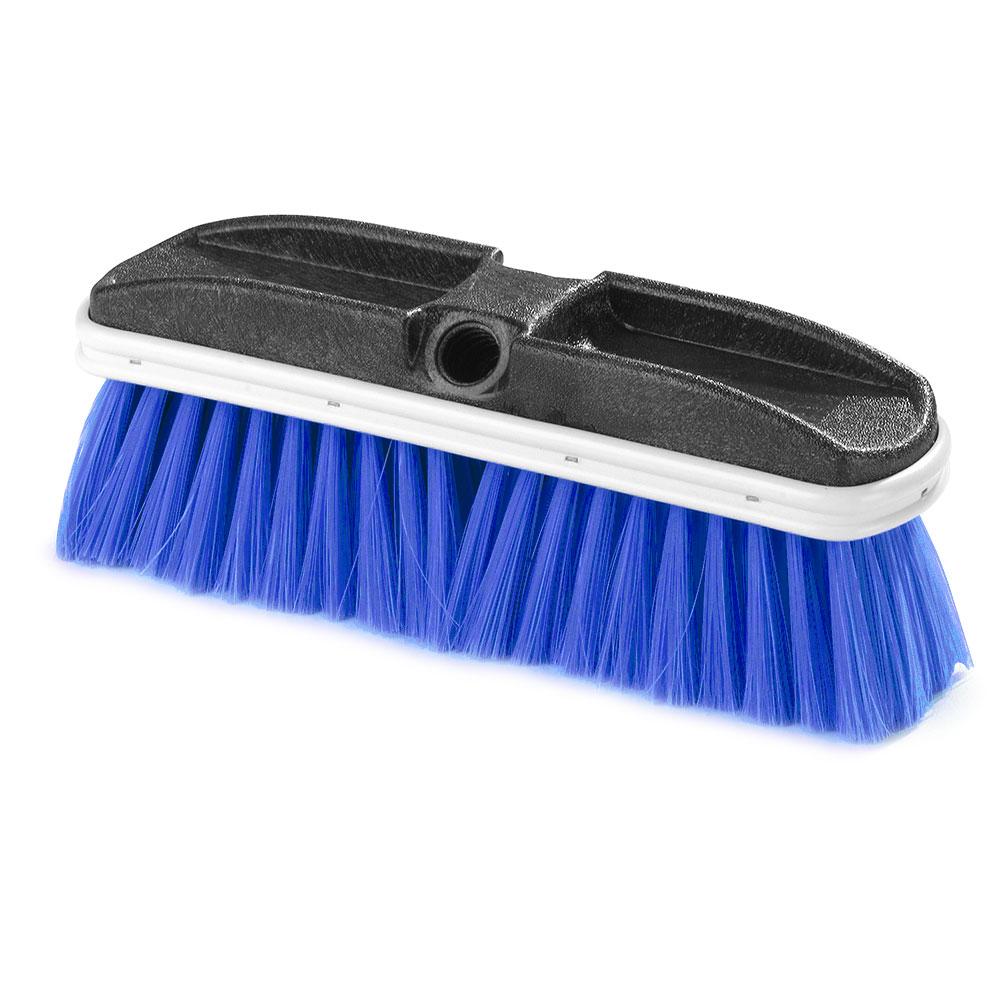 """Carlisle 3646875 10"""" Truck Wash Brush - Plastic/Nyl"""