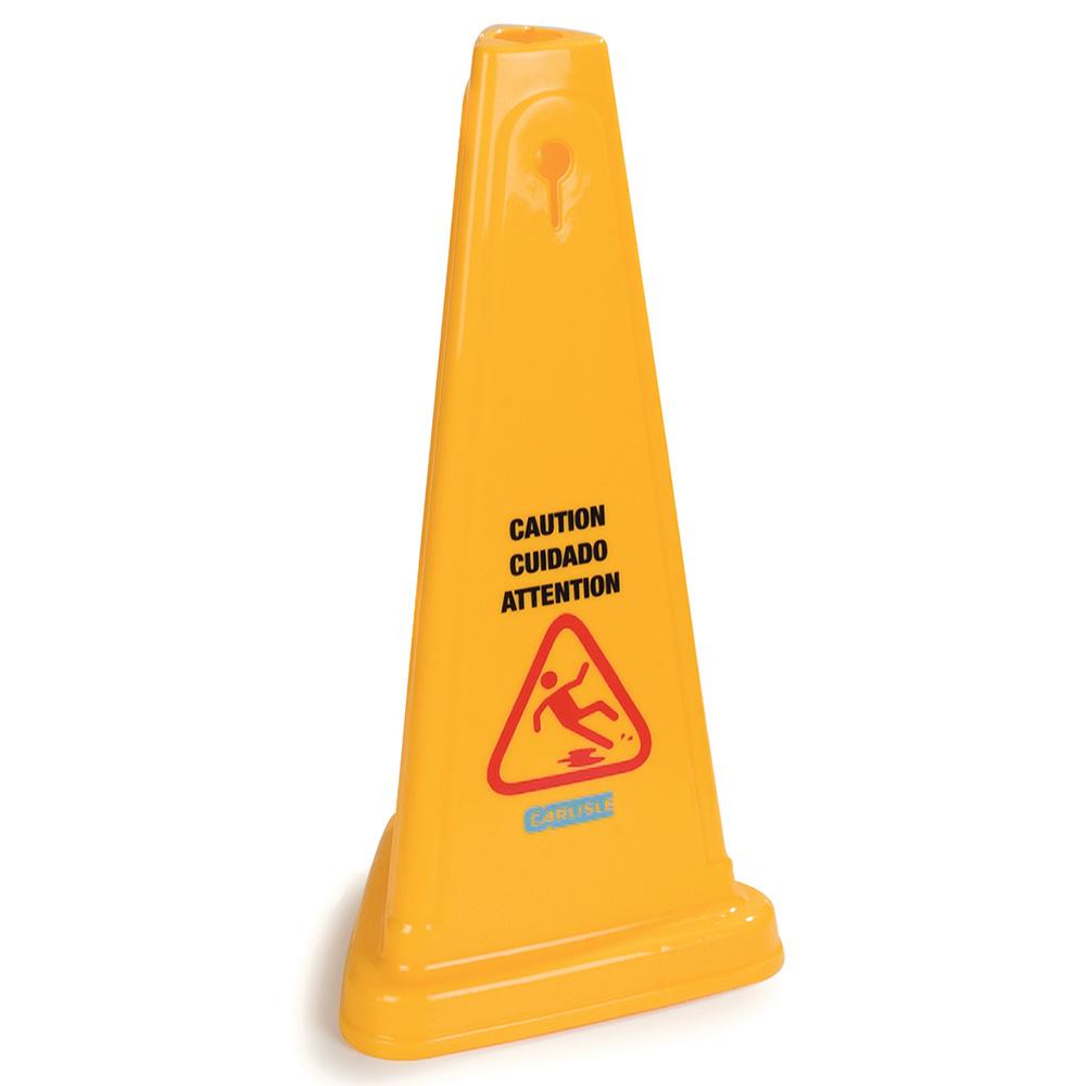 """Carlisle 36940-04 Caution"""" Cone Flo"""