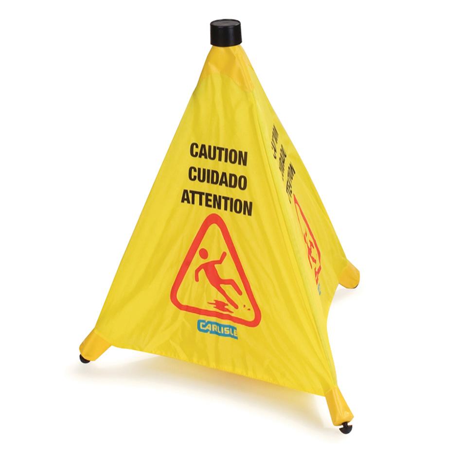 "Carlisle 36942-04 Caution"" Pop-Up Cone"