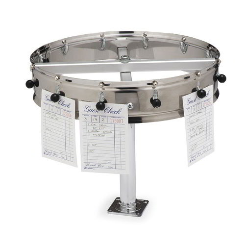 "Carlisle 381EX-20 20"" Order Wheel Extension - Chrome"