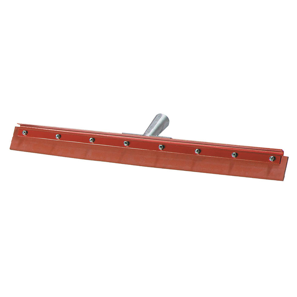 Carlisle 4007600 24 in Floor Squeegee, Red Gum Rubber, w/o Handle