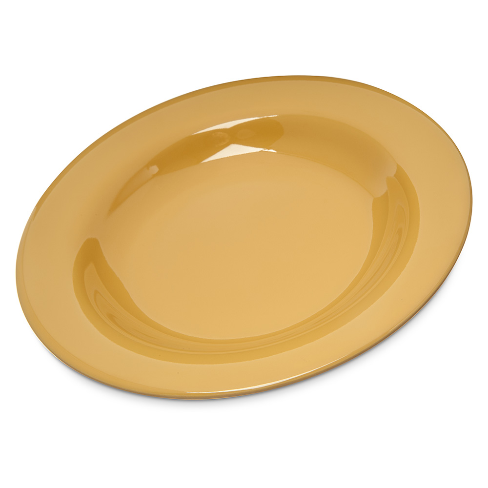 Carlisle Food Service 4303022 12-in Chef Salad/Pasta Bowl NSF Honey Yellow Restaurant Supply