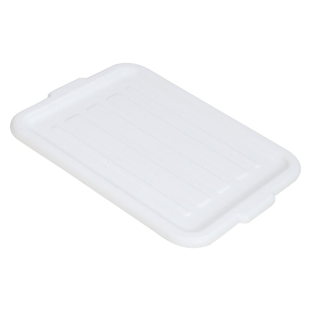 Carlisle 4401202 Bus Box Lid, Universal, Polyethylene, White