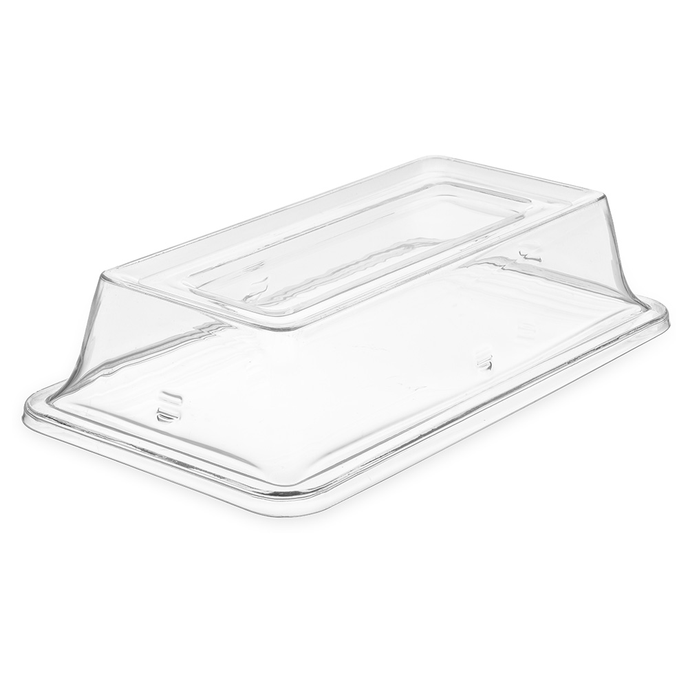 Carlisle 44462C07 1/3 Size Palette Designer Food Pan Cover - Clear