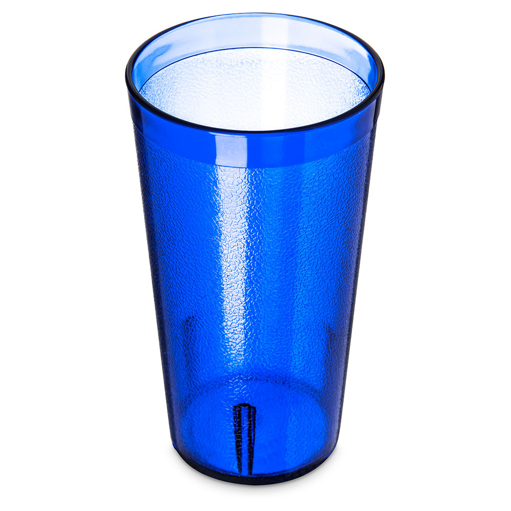 Carlisle 521647 16-oz Coca Cola Stackable Tumbler - Royal Blue