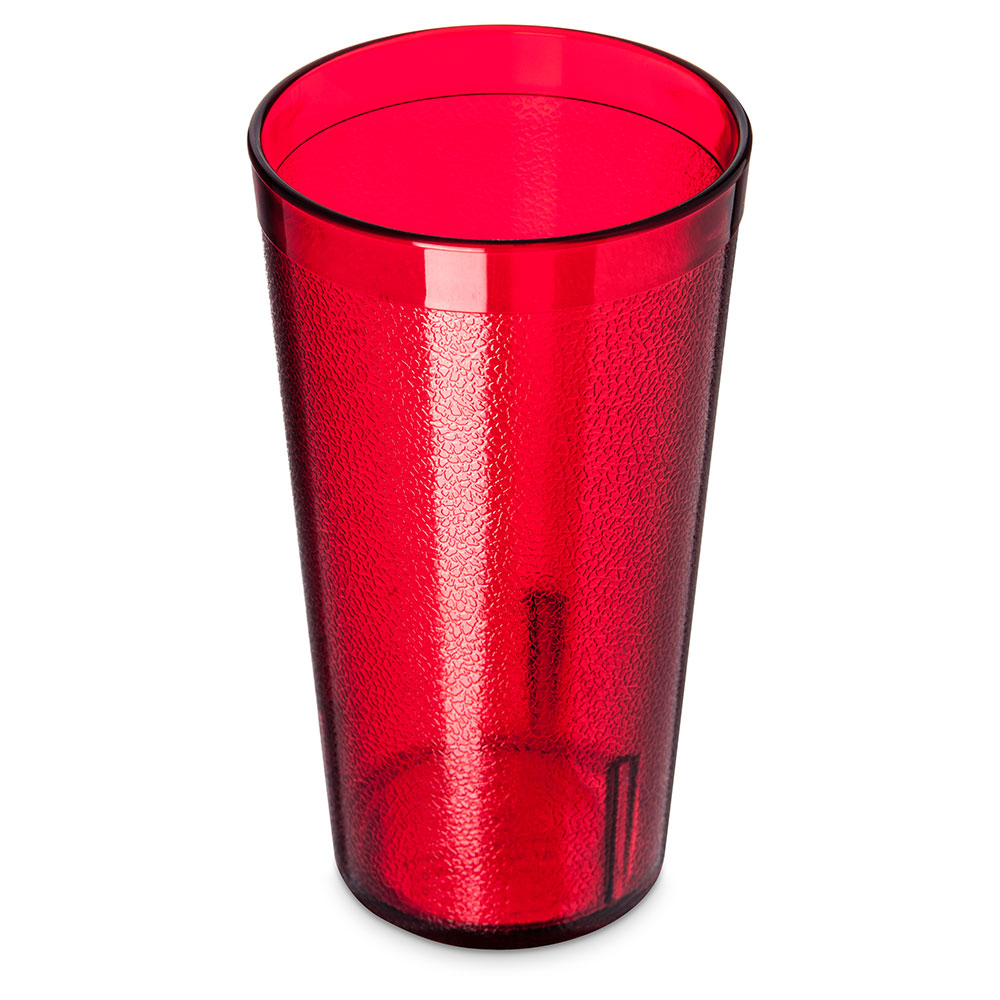 Carlisle 521610 Stackable Tumbler, 16 oz.,SAN, Ruby