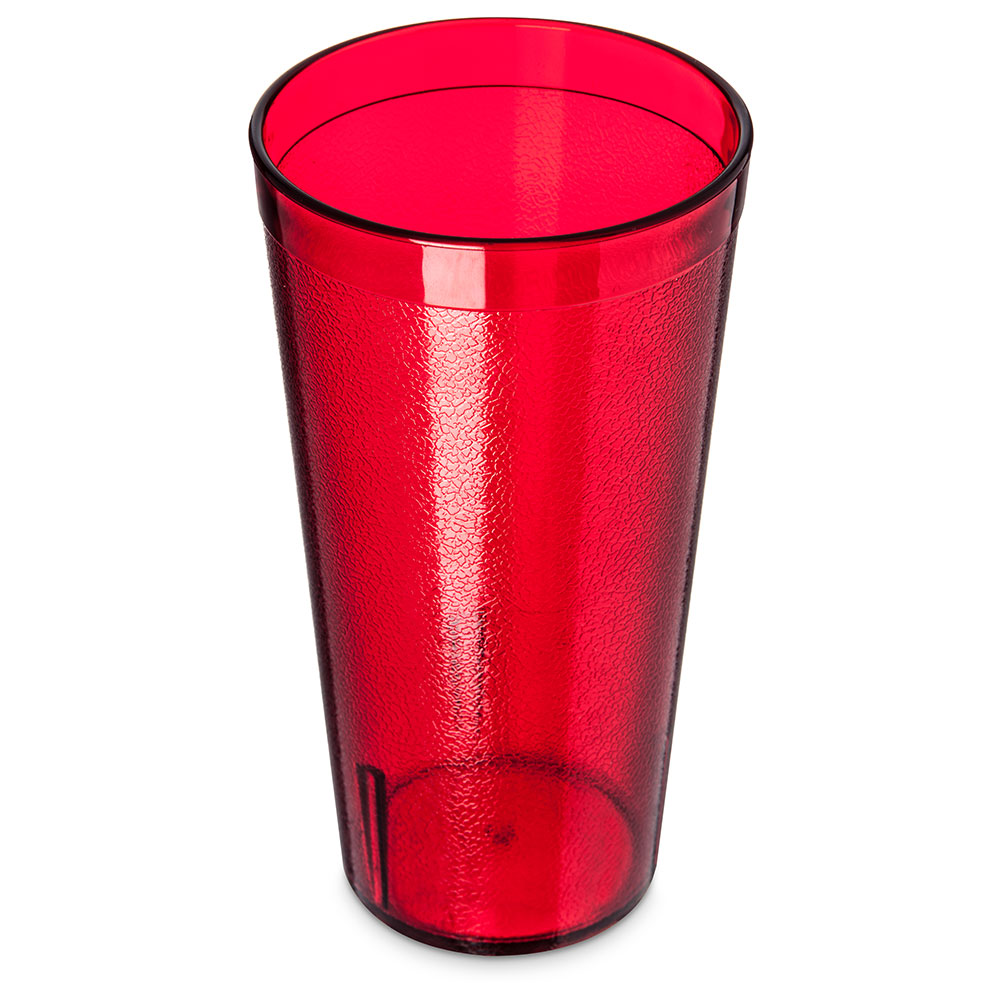 Carlisle 522010 Stackable Tumbler, 20 oz.,SAN, Ruby