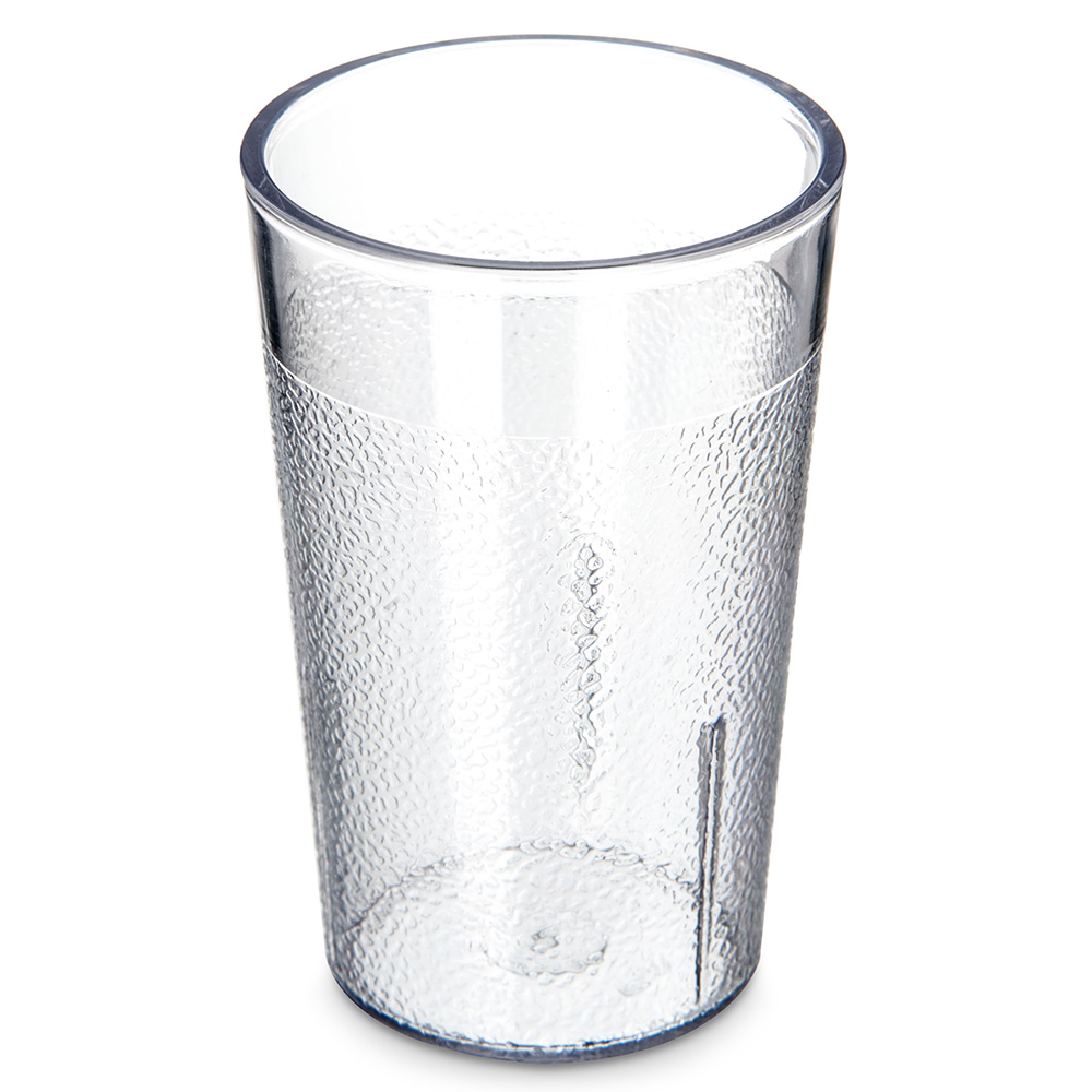 Carlisle 550107 Stackable Tumbler, 5 oz., SAN, Clear
