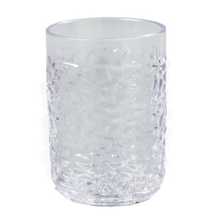 Carlisle 550507 5-oz Pebble Optic Tumbler, Clear SAN
