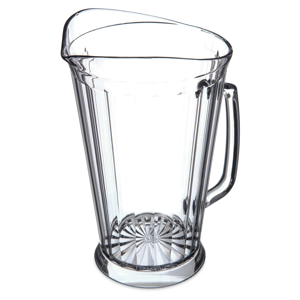 Carlisle 558707 Crystalite Pitcher, 48 oz, Clear