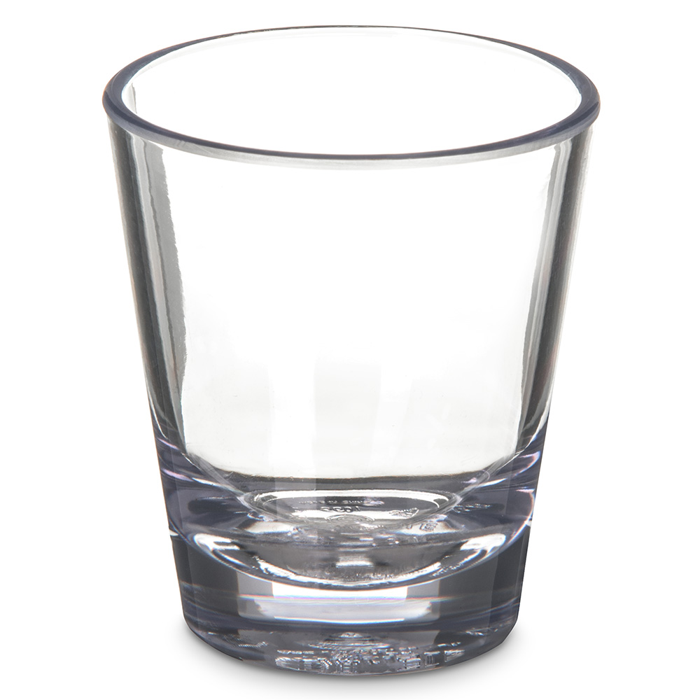 Carlisle 560107 1-1/2-oz Alibi Shot Glass - SAN, Clea