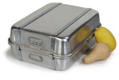 Carlisle 60343 28-qt Reinforced Double Roaster Pan w/ Handles Restaurant Supply