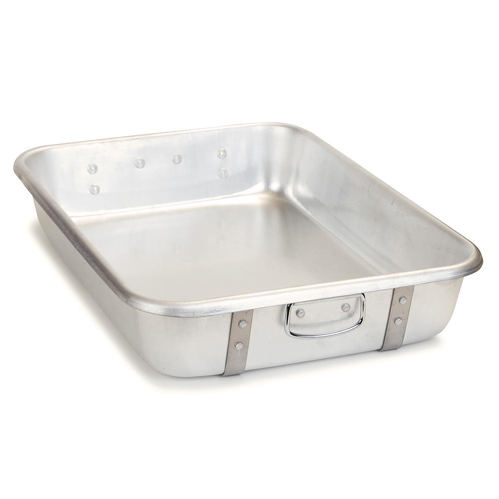 Carlisle 60344 26-qt Roast Pan - Lugs, 16-ga Aluminum