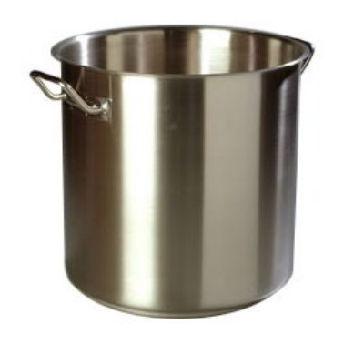 Carlisle Food Service 608412 12-quart Stock Pot w/ Clad Base Stainless Steel Restaurant Supply