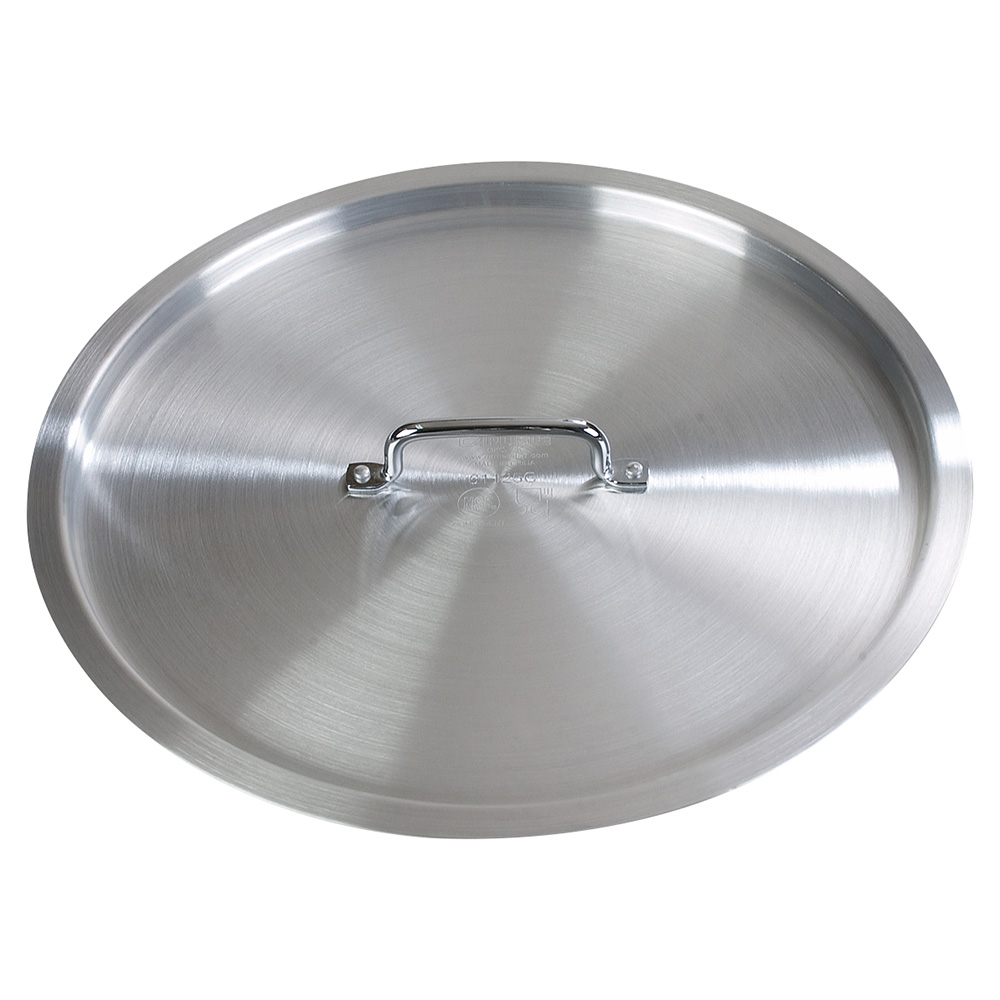 "Carlisle 61125C 17-1/2"" Brazier Pan Cover - Aluminum"