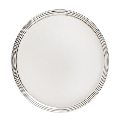 Carlisle 641507 Festival Tray, 15 in Diameter, Divided, Br