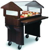 Food Bar Tray Slides & End Shelves