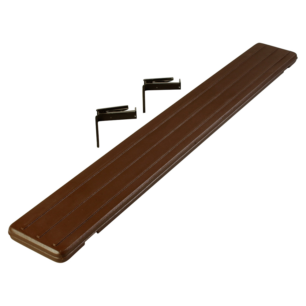 Carlisle 662101 Tray Slide for 6 ft. Food Bar, Brown, NSF