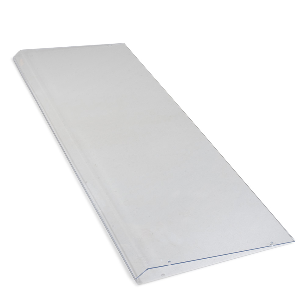 "Carlisle 934507 48"" Sneeze Guard Shield - Acrylic, Clear"