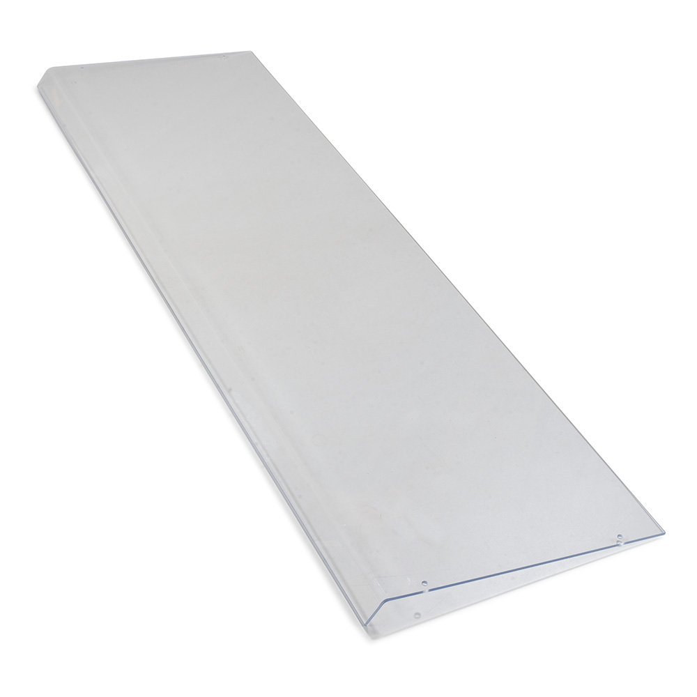"Carlisle 936507 60"" Sneeze Guard Shield - Acrylic, Clear"