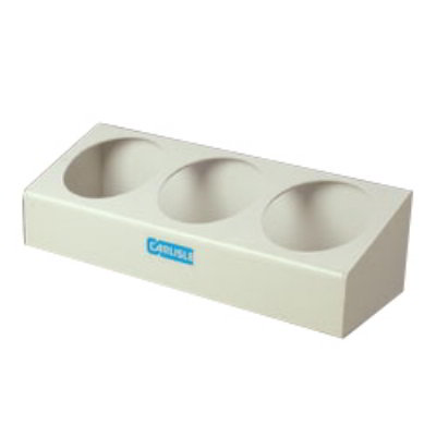 Carlisle 030502 Crock Condiment Station - Holds (3)2.7-qt-Crocks