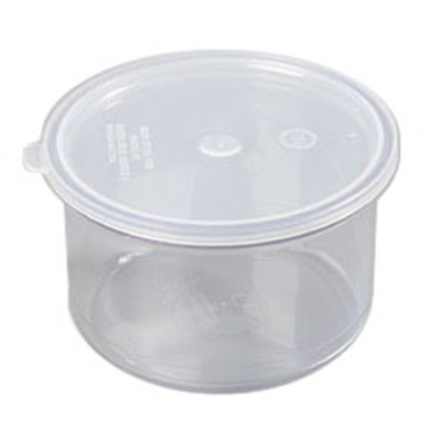 Carlisle 031607 1.5-qt Classic Crock - Snap-On Lid,  Clear