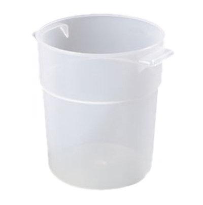 Carlisle 035530 3-1/2-qt Round Bain Marie Container - Translucent