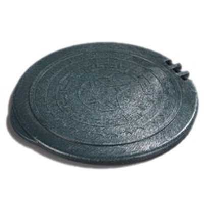 "Carlisle 070008 7"" Tortilla Server Hinged Lid - Fore"