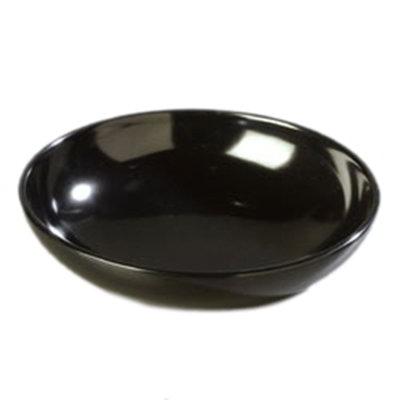 """Carlisle 1000B03 10"""" Salad Bowl - Melamine, Black"""