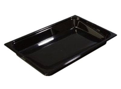 "Carlisle 1020007 Full Size Food Pan - 2-1/2""D, Clear"