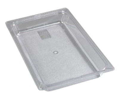 "Carlisle 1020003 Full Size Food Pan - 2-1/2""D, Black"