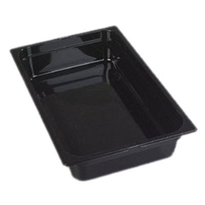 "Carlisle 1020107 Full Size Food Pan - 4""D, Clear"